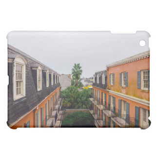 Buildings and Palm Trees in New Orleans iPad Mini Case