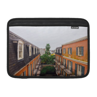 Buildings and Palm Trees in New Orleans MacBook Sleeve