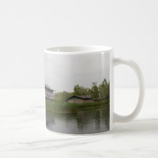 Buildings and shacks on patches of land mug