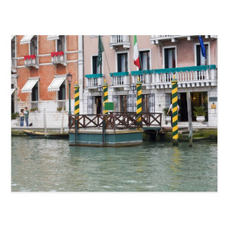 Buildings at the waterfront in Venice, Italy Postcard