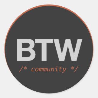 BuildTheWeb 10k Sticker