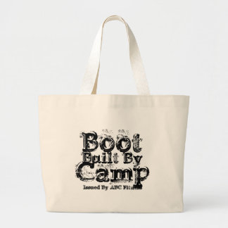 Built By , Boot Camp, Issued By ABC Fitness bag