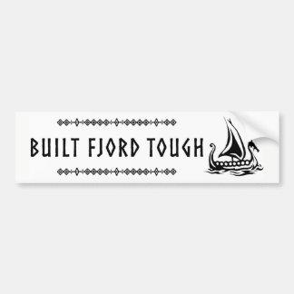 Built Fjord Tough Bumper Sticker