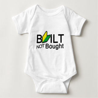 Built, not bought t-shirts