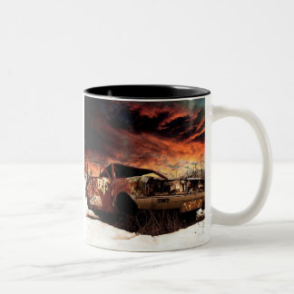"""Built to be Broken..."" Two Tone Two-Tone Coffee Mug"