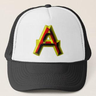 Bujeto Alphabet A Trucker Hat
