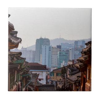 Bukchon Hanok Village Contrast Tile
