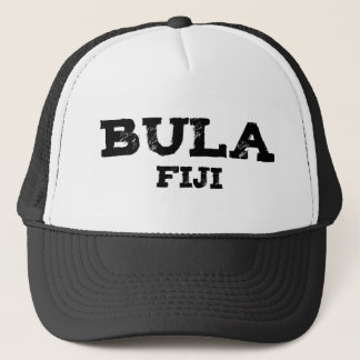 Bula Fiji Graphic Trucker Hat