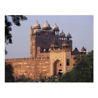 Buland Darwaza Gate of Victory) to the Dargah Postcard
