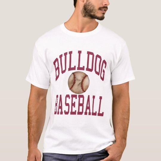 Buldog Baseball Full Design T-Shirt