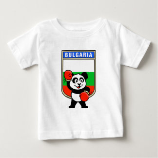 Bulgaria Boxing Panda Baby T-Shirt