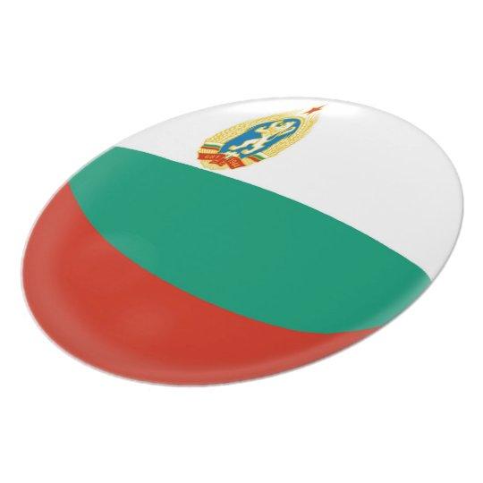 Bulgaria Bulgarian Flag Plate