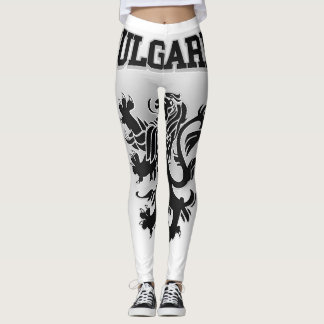 Bulgaria Coat of Arms Leggings