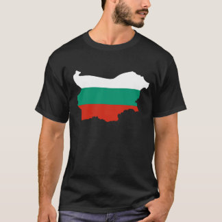 Bulgaria Country with Bulgarian Flag T-Shirt