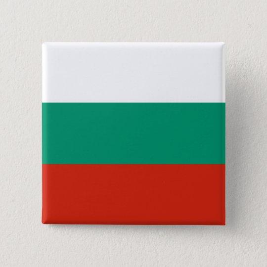 Bulgaria Flag 2 Inch Square Button
