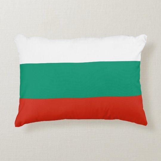 Bulgaria Flag Accent Pillow