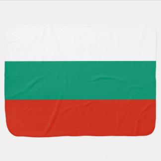 Bulgaria Flag Baby Blanket