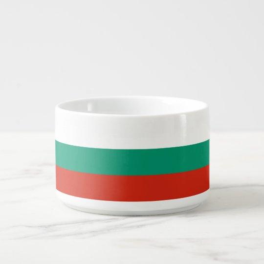 Bulgaria Flag Bowl