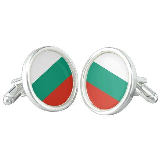 Bulgaria Flag Cufflinks