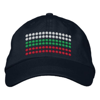 Bulgaria Flag Embroidered Hat