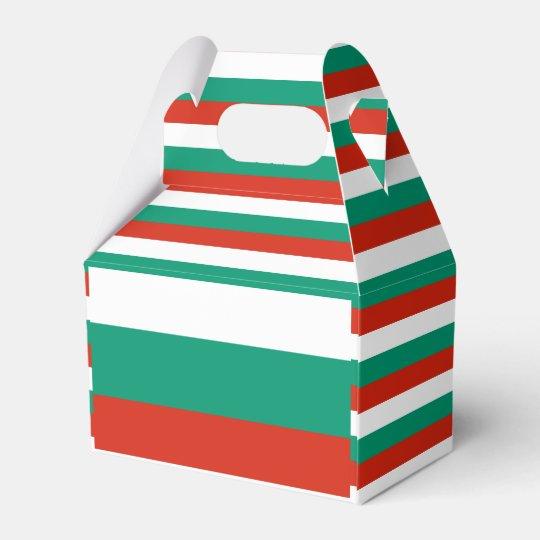Bulgaria Flag Favor Box