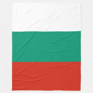 Bulgaria Flag Fleece Blanket