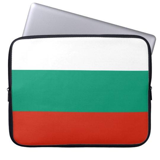 Bulgaria Flag Laptop Sleeve
