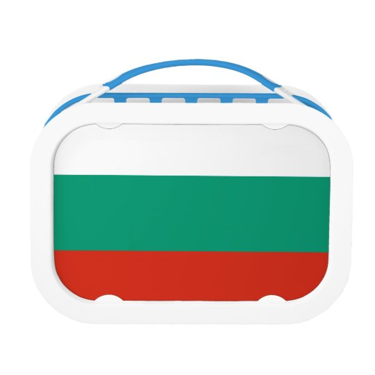 Bulgaria Flag Lunch Box
