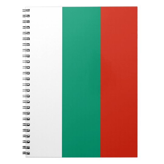 Bulgaria Flag Notebooks