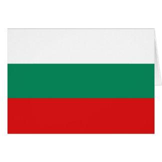 Bulgaria Flag Notecard