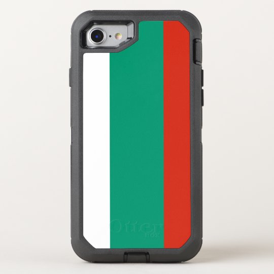Bulgaria Flag OtterBox Defender iPhone 8/7 Case