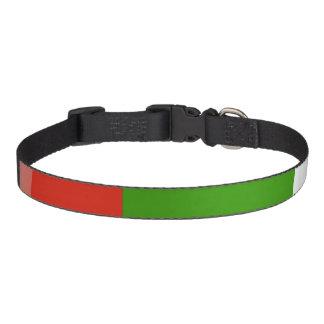 Bulgaria flag pet collar