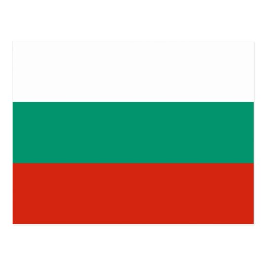 Bulgaria Flag Postcard