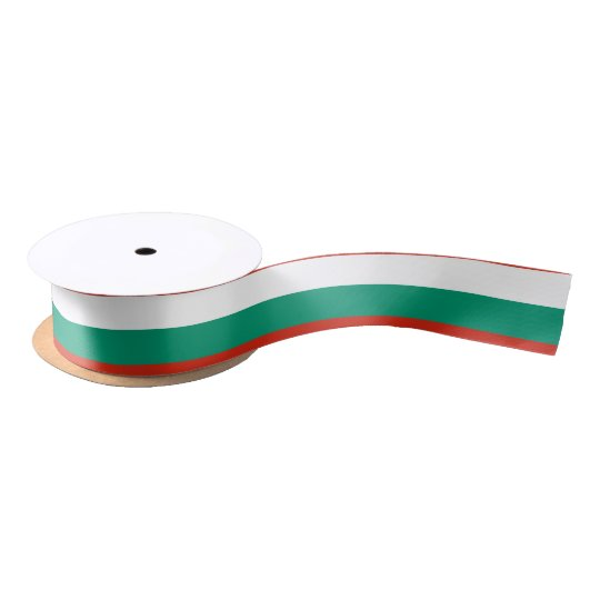 Bulgaria Flag Satin Ribbon