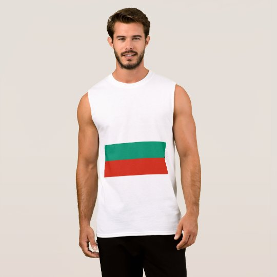 Bulgaria Flag Sleeveless Shirt