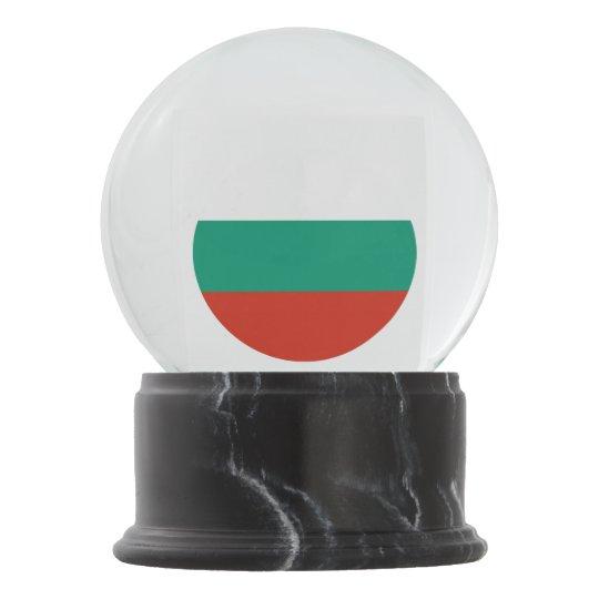Bulgaria Flag Snow Globe