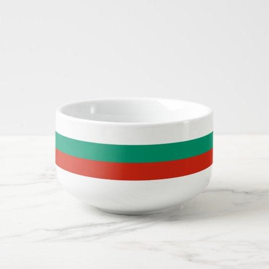 Bulgaria Flag Soup Mug