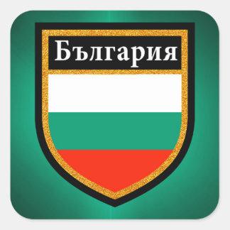 Bulgaria Flag Square Sticker