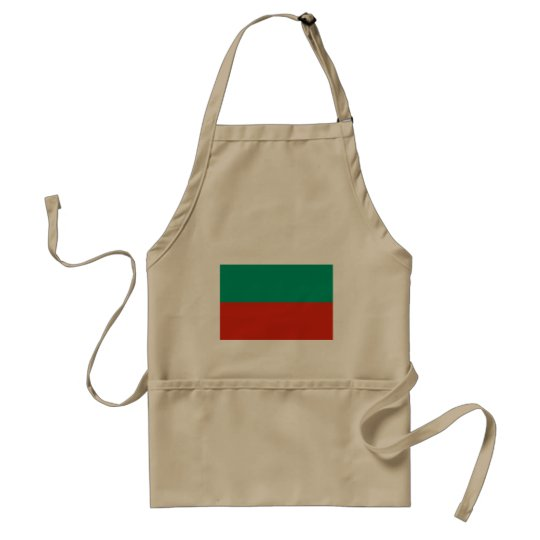 Bulgaria Flag Standard Apron