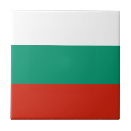 Bulgaria Flag Tile