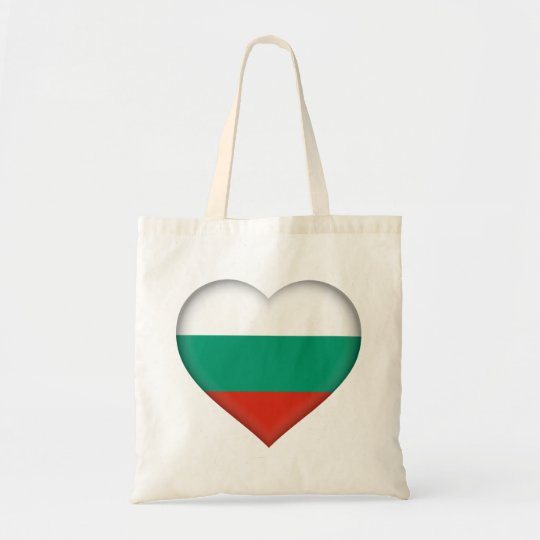 Bulgaria Flag Tote Bag