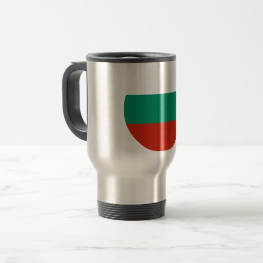 Bulgaria Flag Travel Mug