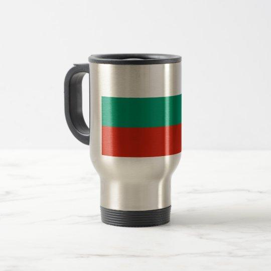 Bulgaria Flag Travel Mug