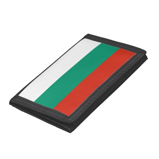 Bulgaria Flag Trifold Wallets