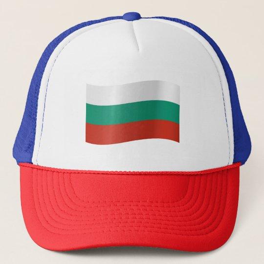 Bulgaria Flag Trucker Hat