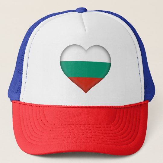 Bulgaria Flag Trucker Hat