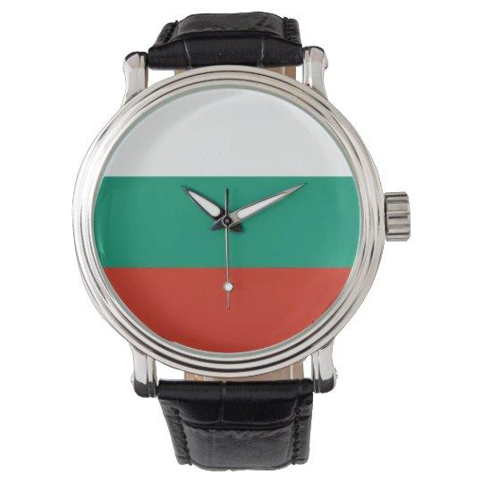 Bulgaria Flag Watch
