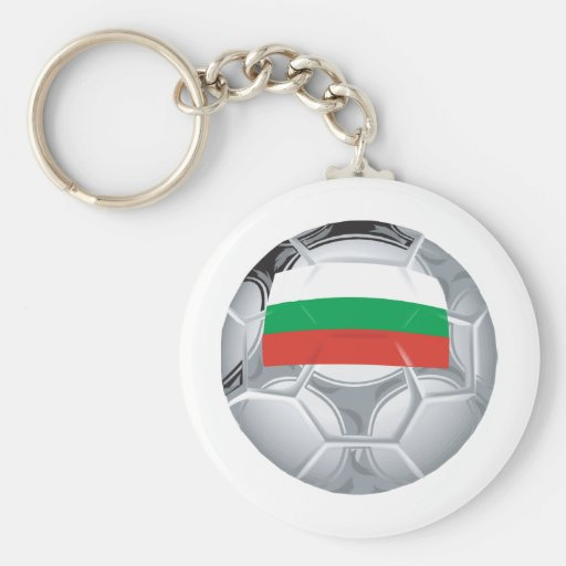 Bulgaria Soccer Keychains