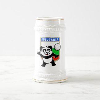 Bulgaria Volleyball Panda Beer Stein