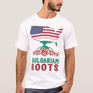 Bulgarian American Roots Tee Shirt